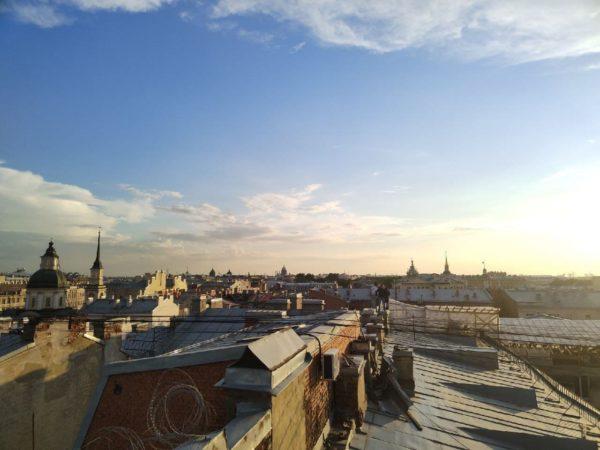 экскурсии по крышам Питера