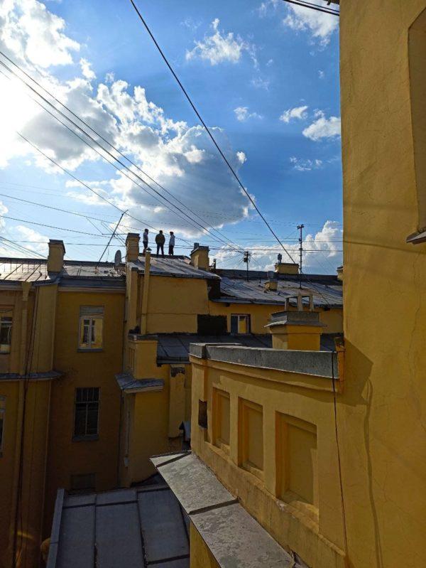 экскурсии по крышам Невского проспекта