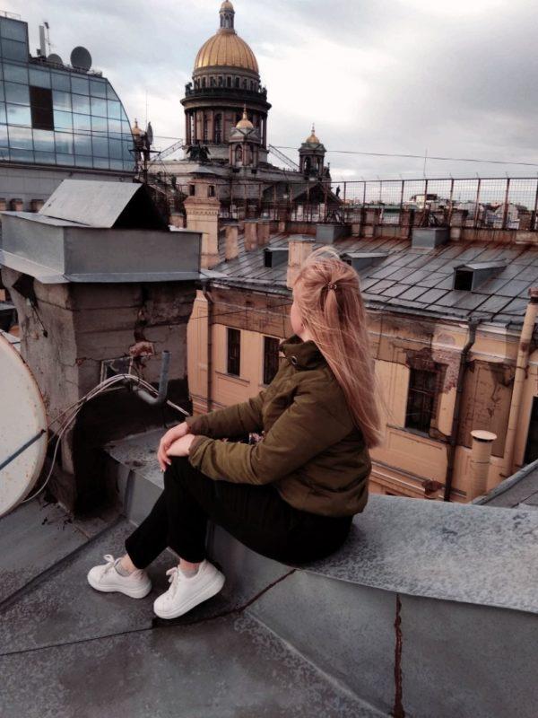 фотосессия на крышах питера